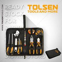 Набор ручных инструментов, Tolsen 9шт / Hand tool set, Tolsen, 9pcs
