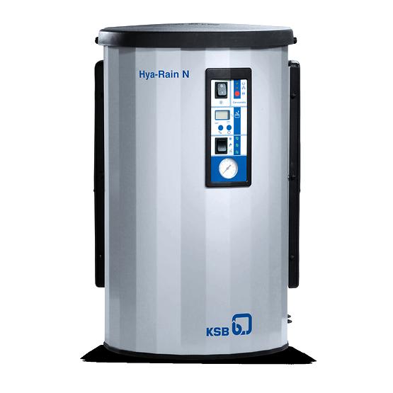 Установки для утилизации дождевой воды Hya-Rain / Hya-Rain N