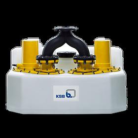 Водоподъемные фекальные установки / Канализационные насосные станции Compacta