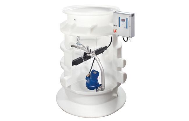 Водоподъемные фекальные установки / Канализационные насосные станции Pumpstation CK 800