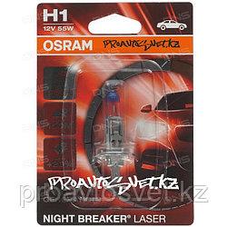 "Osram Night Breaker Laser H1  64150NL Лампа ""+150%"" света"