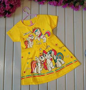 Платье летнее, желтое