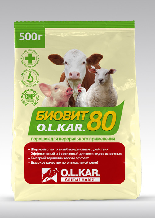 Биовит 80  500гр OLKAR