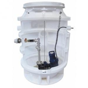 Водоподъемные фекальные установки / Канализационные насосные станции Ama-Porter CK-Pumpstation, фото 2