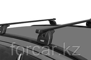 Багажная система LUX с дугами 1,2м прямоугольными в пластике для а/м Kia Soul II 2015- г.в.  интегр. рейлинг, фото 2