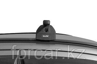 Багажная система LUX с дугами 1,2м прямоугольными в пластике для а/м Kia Soul II 2015- г.в.  интегр. рейлинг, фото 3