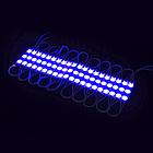 Светодиод трехточечный с линзой 0.72W COMPACT 5613 (синий), фото 2