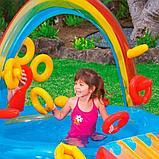 """Игровой центр бассейн Intex 57453 c горкой """"радуга"""", фото 5"""
