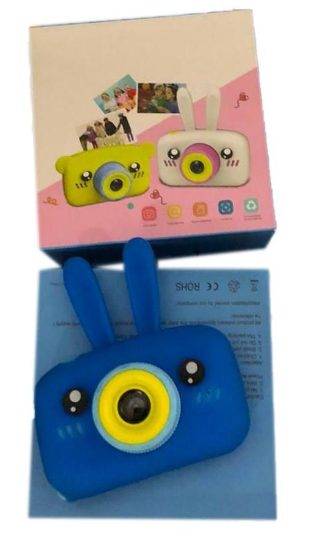X500 Детский фотоаппарат Зайки с памятью и разьемом для флешки до32гб 11*11см