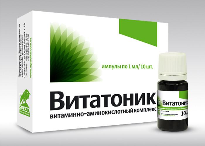 Витатоник  10мл        витамины+минералы+аминокислоты ,оральный раствор