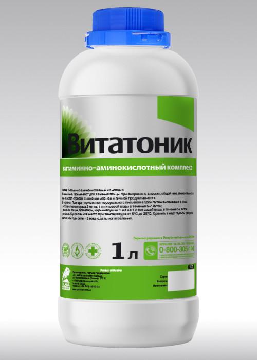 Витатоник  1000 мл        витамины+минералы+аминокислоты ,оральный раствор