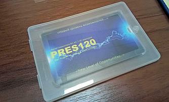 Пластиковый футляр для флешки визитки. Оптом.
