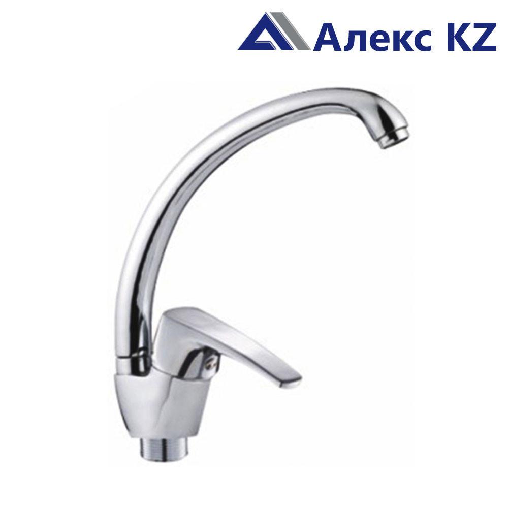 Смеситель KOLAG 446 одноручный для кухни с высоким поворотным изливом