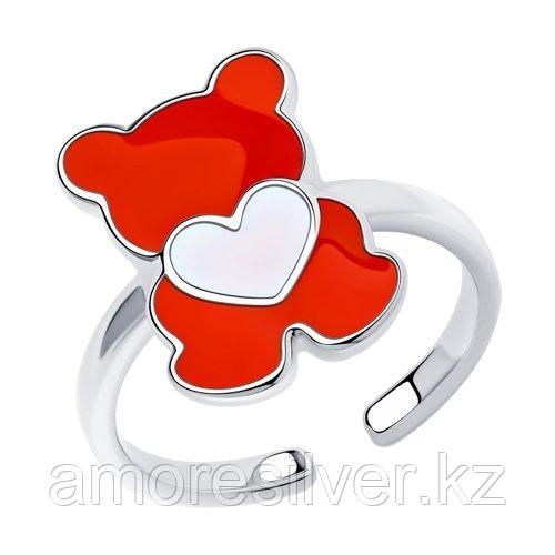 Кольцо из серебра с эмалью    SOKOLOV 94013184
