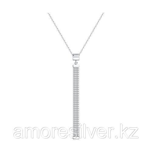 Колье из серебра  SOKOLOV 94074635