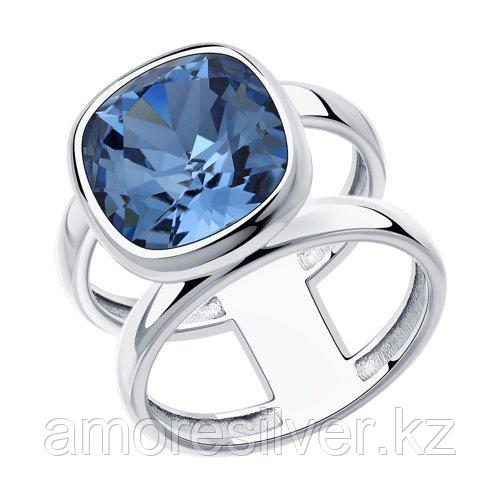 Кольцо из серебра с кристаллом Swarovski    SOKOLOV 94013180