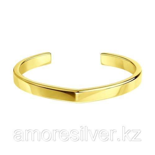 Браслет из золочёного серебра  SOKOLOV 93050141