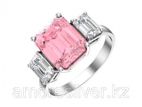Кольцо из серебра с кварцем и фианитом   Pokrovsky 1100912-04035 размеры - 16,5  1100912-04035