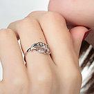 Кольцо из серебра с фианитом  Золотые узоры  17  90-01-6007-00, фото 2