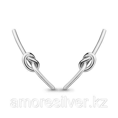 Серьги из серебра   Aquamarine 33188.5