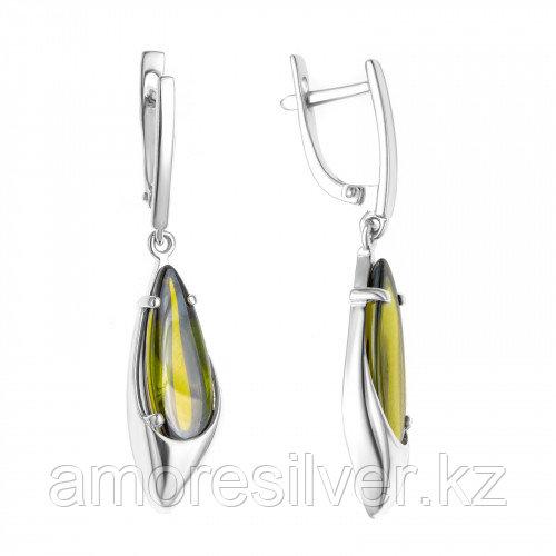 Серебряные серьги с фианитом    Teosa 2000-0236-Ol