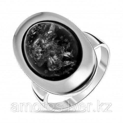 Кольцо из серебра с  и янтарем    ЯНТАРНАЯ ЛАГУНА 4LP098