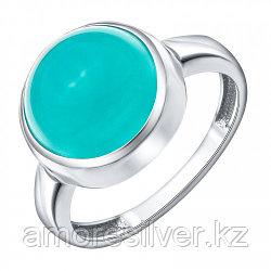 Серебряное кольцо с аквамарином синтетическим    Teosa 1000-0167-AQ