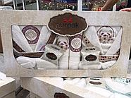 Комплект банных халатов с полотенцами Nurpak, фото 3