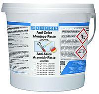 WEICON Anti-Seize Монтажная паста (5 кг) Защита от коррозии и высокопроизводительное смазывающее средство. Ведро.