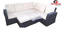 Угловой комплект диван+пуфик RAHAT