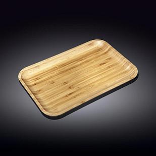 Блюдо 25.5*15 см Бамбук Wilmax прямоугольное