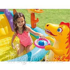 """Надувной игровой центр - бассейн """"Планета динозавров"""", Intex 57135, фото 3"""