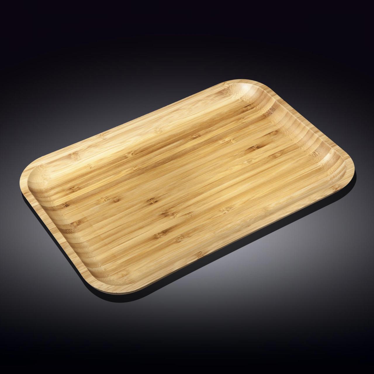 Блюдо 35.5*25.5 см Бамбук Wilmax прямоугольное