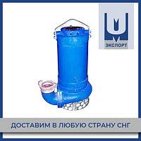 Насос ЦМК 300-30 с ножом погружной моноблочный передвижной канализационный