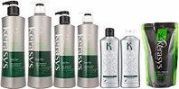 Шампунь и кондиционер для волос Kerasys. Лечение кожи головы. Освежающий.