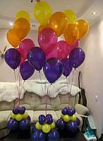 Гелиевые шары на подставке