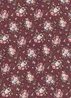 """Ткань для пэчворка 100% хлопок из серии """"Rosehill"""" мелкий цветочек"""