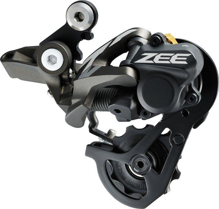 Shimano  задний переключатель Zee -SGS 10-spd top-normal direct attach, shadow plus 11-23/11-28T