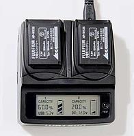Двойное зарядное устройство для Fujifilim NP-W126S Dual LCD Charger