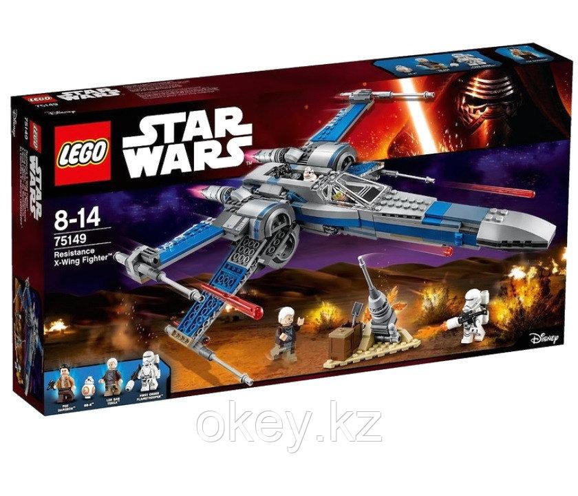 LEGO Star Wars: Истребитель Сопротивления типа Икс 75149