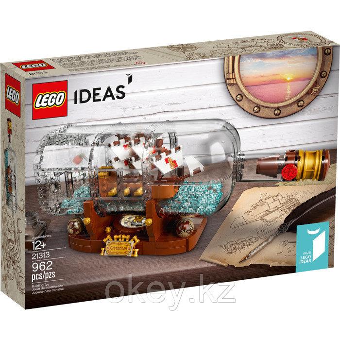 LEGO Ideas: Корабль в бутылке 21313