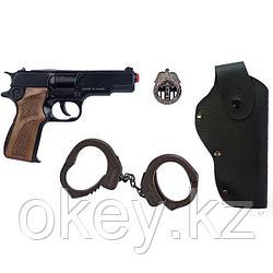 Gonher: Набор полицейского с пистолетом и аксессуарами 425/6