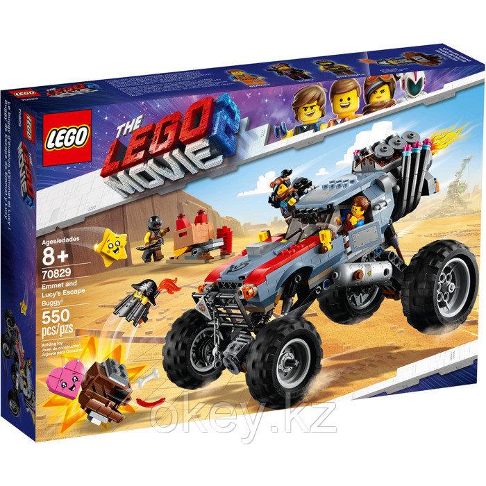 LEGO Movie: Побег Эммета и Дикарки на багги 70829