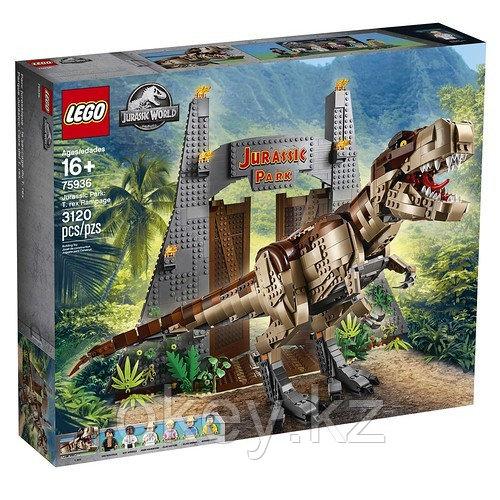 LEGO Jurassic World: Парк Юрского периода: ярость тираннозавра 75936