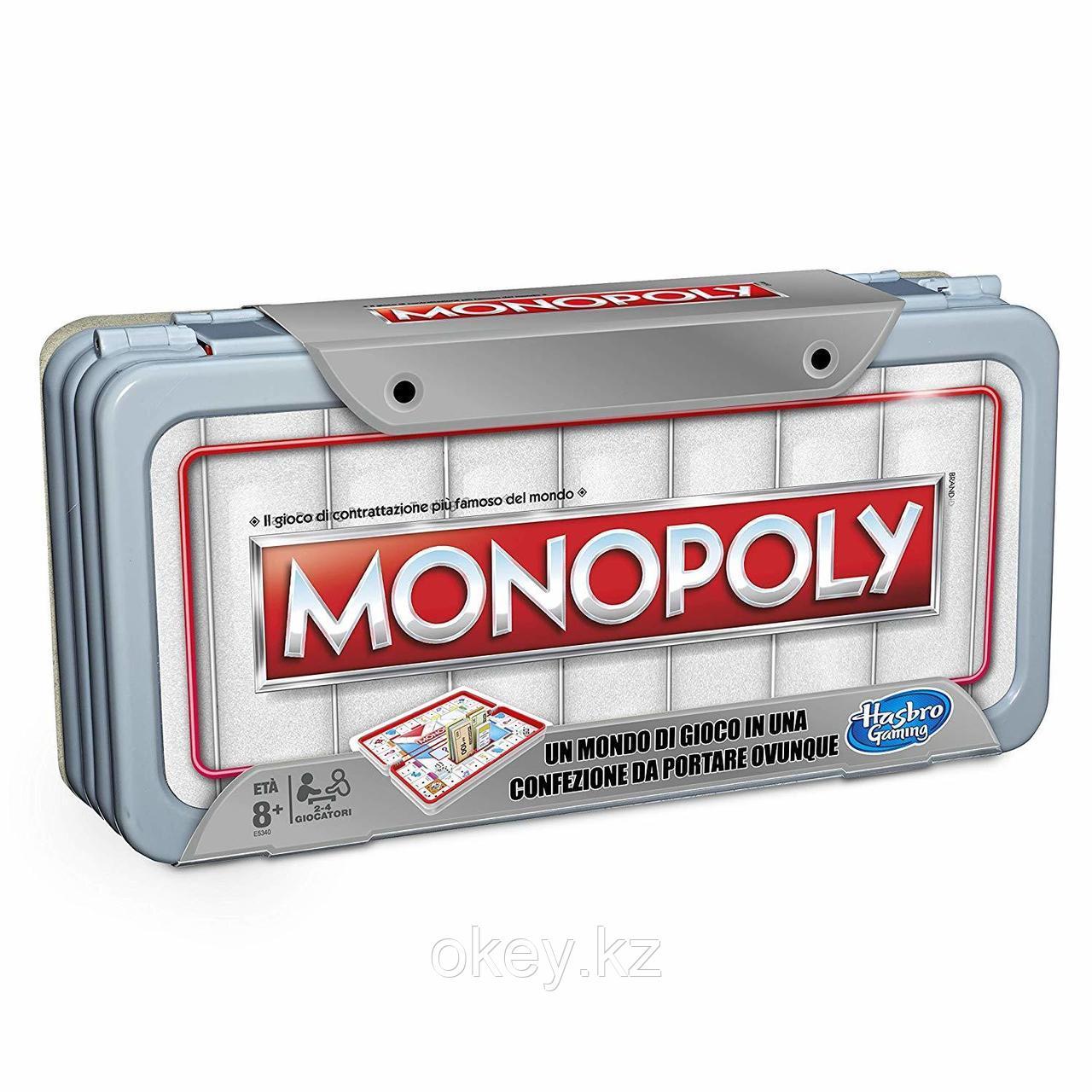 Hasbro: Игра настольная дорожная Монополия Роудтрип E5340