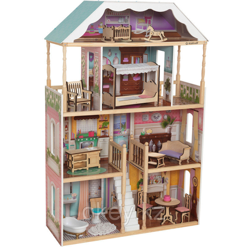 KidKraft: Кукольный домик Шарлотта 65956_KE