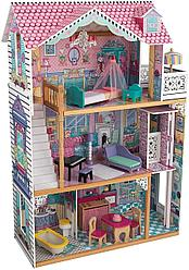 KidKraft: Трехэтажный дом для кукол Барби Аннабель с мебелью 65934_KE