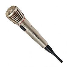 Микрофон вокальный беспроводной Defender MIC-140 серый, металл