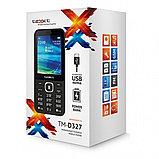 Мобильный телефон Texet TM-D327 черный, фото 3