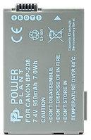 Аккумулятор для Canon BP-208 (PowerPlant) 950mAh, фото 1